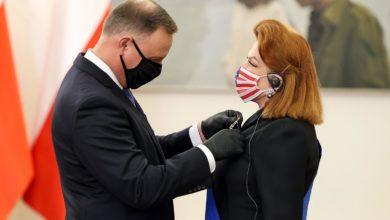 Photo of Georgette Mosbacher odznaczona Krzyżem Wielkim Orderu Zasługi RP. Ambasador USA odchodzi ze stanowiska
