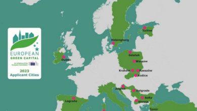Photo of Zielona Stolica Europy 2023. Cztery polskie miasta powalczą o tytuł i 600 tys. euro