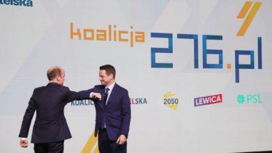 """Photo of PO. Koalicja 276. """"Powołamy na nowo KRS i TK. Zlikwidujemy TVP Info i abonament RTV. Wprowadzimy rozdział kościoła od państwa"""""""