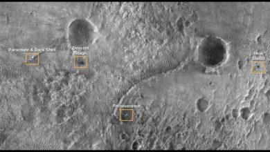 Photo of Łazik Perseverance na Marsie. Pierwsze dźwięki z Czerwonej Planety, panorama i film z lądowania