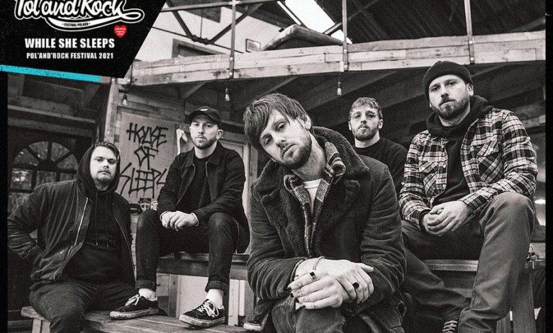 Photo of Brytyjski metalcore While She Sleeps na Pol'and'Rock 2021