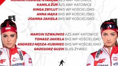 Photo of Biathlon. Polska wygrała klasyfikację medalową ME. Skład biało-czerwonych na MŚ