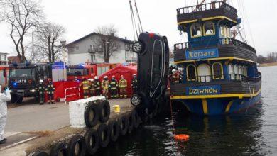 Photo of Dziwnów. Rodzinna tragedia. Samochód wpadł do rzeki. Wypadek czy samobójstwo?