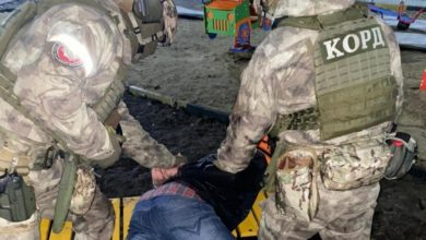"""Photo of Ukraina. """"Nie było fajerwerków"""", więc… strzelał z broni automatycznej. Trafił w linię wysokiego napięcia"""