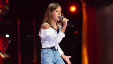 """Photo of """"Sobowtórka"""" Roksany Węgiel w """"The Voice Kids 4"""". Wiktoria Kasprzyk zaśpiewała """"Hold My Hand"""" [WIDEO]"""