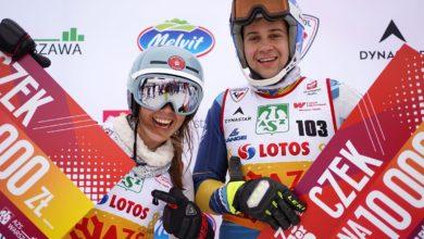 Photo of Katarzyna Wąsek najlepsza w AZS Winter Cup