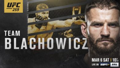 Photo of MMA. UFC 259. Jan Błachowicz obronił pas wagi półciężkiej