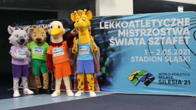 Photo of Miesiąc do World Athletics Relays Silesia 21 na Stadionie Śląskim