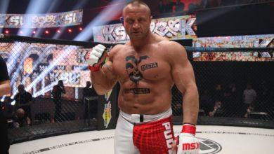 Photo of MMA. KSW 59. Mariusz Pudzianowski pokonał Nikola Milanovicia. Wyniki walk [ZDJĘCIA]