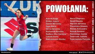 Photo of Piłka ręczna. Kadra narodowa kobiet na kwalifikacyjne mecze MŚ z Austrią