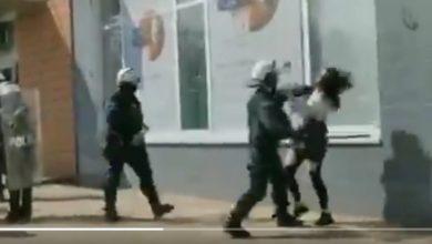 Photo of Protest w Głogowie. Policjant uderzył pałką młodą kobietę [WIDEO]