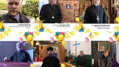 Photo of Przedstawiciele łódzkich kościołów składają życzenia wielkanocne [WIDEO]