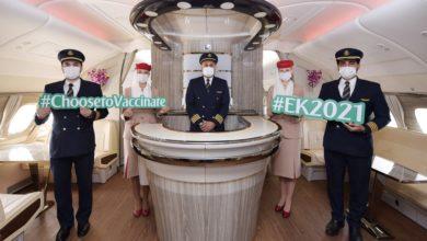 Photo of Emirates – specjalny lot EK2021. Załoga i pasażerowie byli zaszczepieni [ZDJĘCIA]