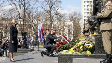 Photo of 78. rocznica wybuchu Powstania w Getcie Warszawskim. Zawyły syreny