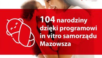 Photo of Program in vitro na Mazowszu. Potwierdzono 410 ciąż i urodziło się 104 dzieci