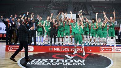 Photo of Energa Basket Liga. Brązowe medale dla WKS Śląska Wrocław. Arged BMSlam Stal drugą drużyną FIBA Europe Cup