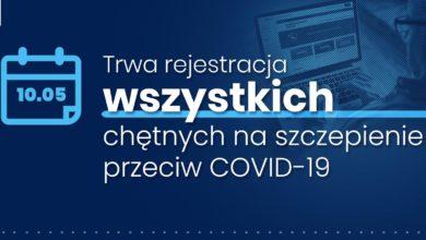 Photo of Trwa rejestracja na szczepienie przeciw COVID-19 dla wszystkich pełnoletnich