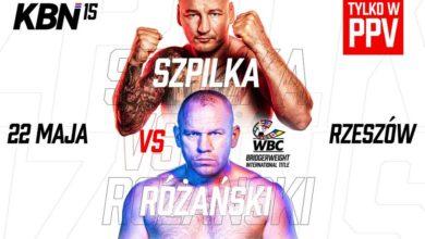 "Photo of Gala Knockout Boxing Night 15: Artur ""Szpila"" Szpilka vs Różański + celebryci"