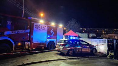 Photo of Brzeziny. Atak nożownika. Ranny policjant, inny mężczyzna nie żyje