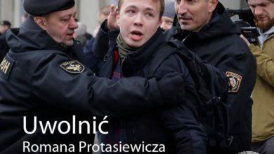 Photo of Dołącz do apelu: #FreeRomanProtasevich. UE wzywa do uwolnienia białoruskiego dziennikarza