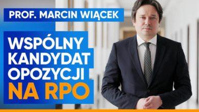 Photo of Marcin Wiącek wspólnym kandydatem opozycji na Rzecznika Praw Obywatelskich