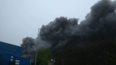 Photo of Pożar w Elektrowni Bełchatów. Zapalił się taśmociąg węglowy