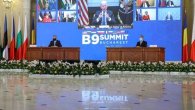 Photo of Bukareszt. Andrzej Duda na Szczycie B9. Prezydent USA Joe Biden online