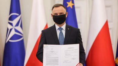Photo of Prezydent Andrzej Duda ratyfikował Fundusz Odbudowy Unii Europejskiej