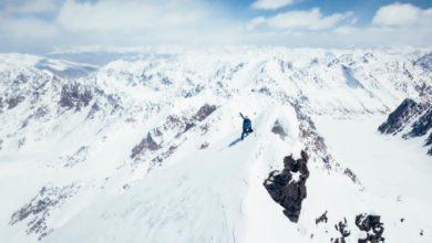 Photo of Andrzej Bargiel zdobył dziewiczy szczyt Yawash Sar II i zjechał z niego na nartach. Mamy ZDJĘCIA