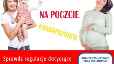 """Photo of Akcja """"Mama przodem"""" w placówkach Poczty Polskiej"""
