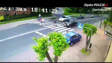 Photo of Rędziny k. Częstochowy. Kierowca mógł zabić dziecko na hulajnodze [WIDEO]