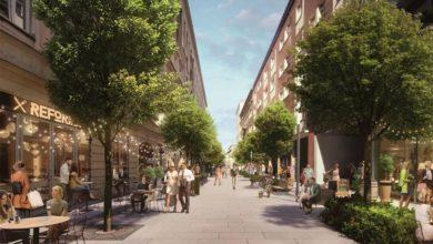 Photo of Nowe Centrum Warszawy. Zielona Chmielna z miejscami do wypoczynku