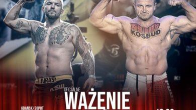Photo of MMA. Wyniki porannego ważenia przed galą KSW 61 w Trójmieście